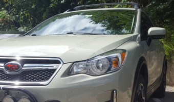Andreas Client Gets Subaru Crosstrek Remote Starter and Audio Upgrade