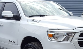 Lehighton Clients Adds Window Tint to Dodge Ram for Added Comfort