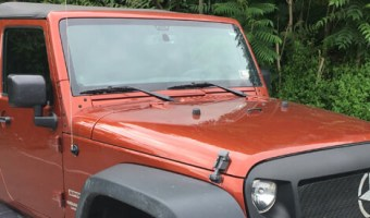 Jeep Wrangler Radio Upgrade for Nesquehoning Client