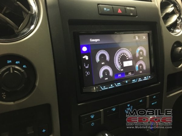 2011 Ford F-150 Radio Replacement for Andreas Client