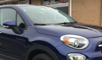Fiat 500X Radio and Backup Camera Upgrade for Albrightsville Client