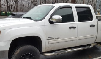 Lehighton Client Upgrades 2008 GMC 3500 Truck with Full Audio System