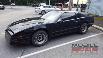 Firebird Trans Am Window Tint