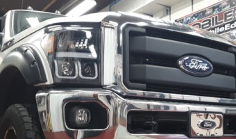 Northampton Ford F-350 Stereo System: Stage 3