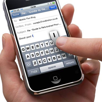 iPhone - Designed for finger control