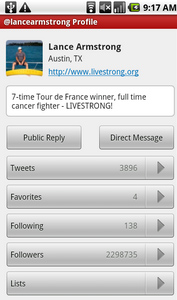 Seesmic Twitter Client for Android