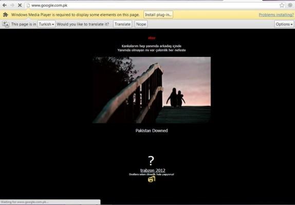 Google.com.pk Hacked