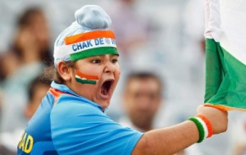 Indian Supporter Boy