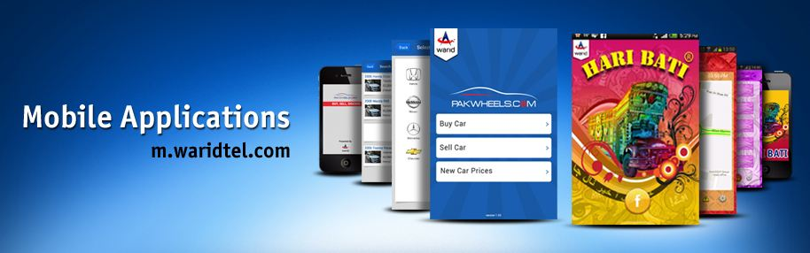 Warid's new Mobile App to buy or sell cars in association with Pak-Wheels