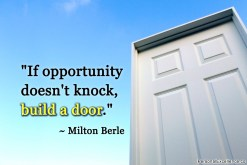 Build a Door- Inspirational Quotes Images