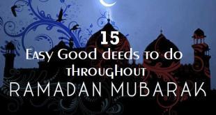 ramadan deeds