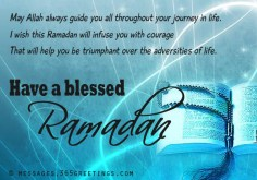 Blessed Ramadan - Ramadan Greetings Images