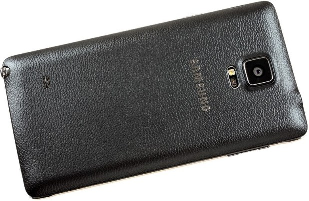 galaxy note 4 back
