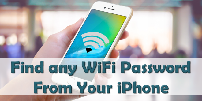 Find Any Wifi Password, App Logins and Apple ID on Your iPhone