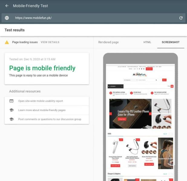 how to check my website is mobile-friendly