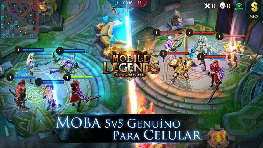 Mobile Legends O Verdadeiro League Of Legends Para