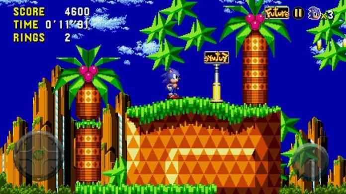 sonic-cd-android-gratis-1 Sonic 30 anos: relembre os jogos para celular do mascote da SEGA