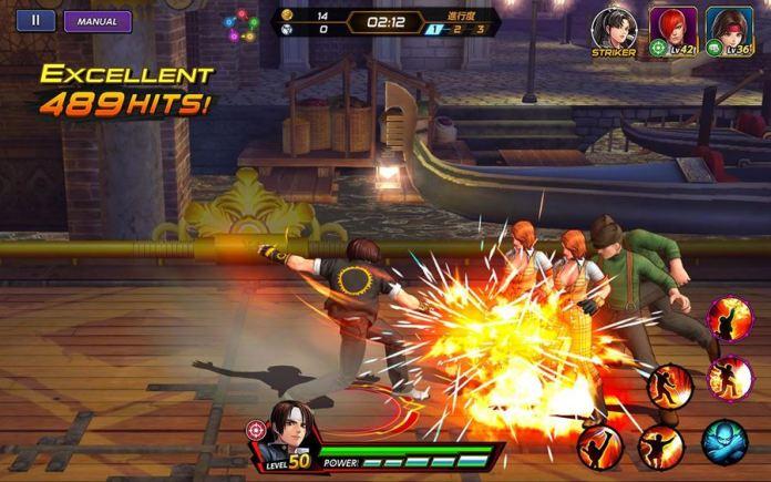 kof-all-star-apk 25 Jogos para jogar com Controle no Android em 2020