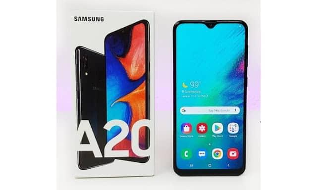 Samsung-Galaxy-A20 Os PIORES Celulares para Comprar em 2020 / 2021