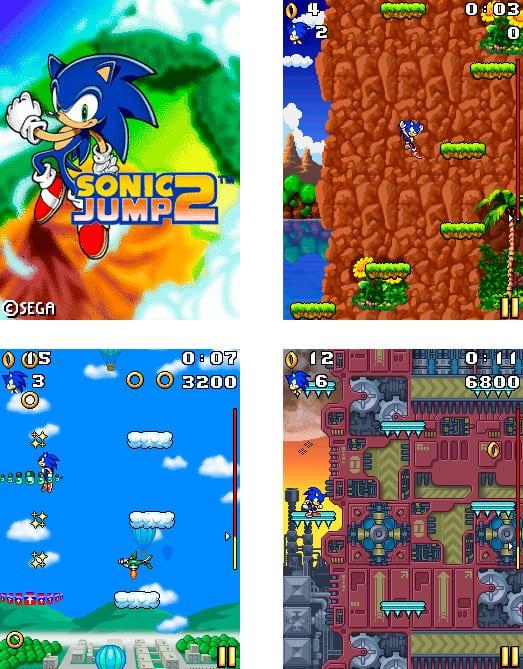 sonic-jump-2-java Sonic 30 anos: relembre os jogos para celular do mascote da SEGA