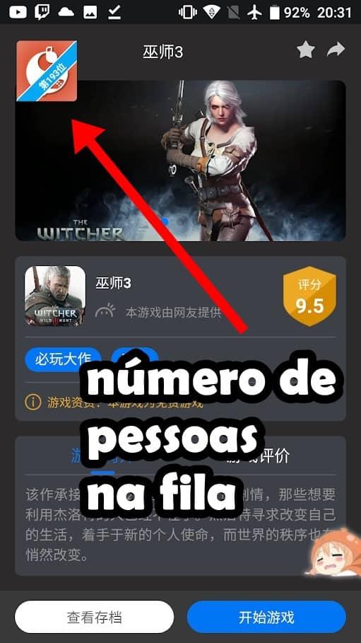 """whale-cloud-gaming-3-1-1 Whale Cloud: """"Emulador"""" do PS4 e Xbox para Android sem cadastro ou número chinês"""