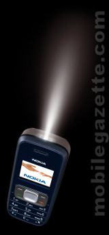 Nokia 1209 with Flashlight