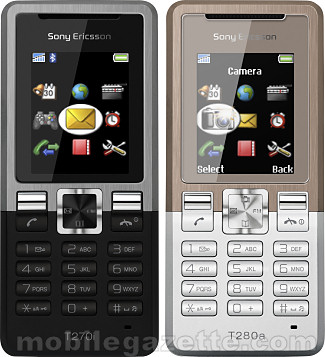 Sony Ericsson T270 and T280