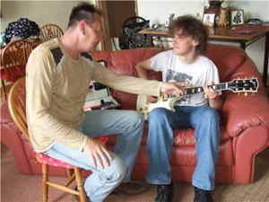 Mobile Guitar Lessons Tutor - Mark Nevison
