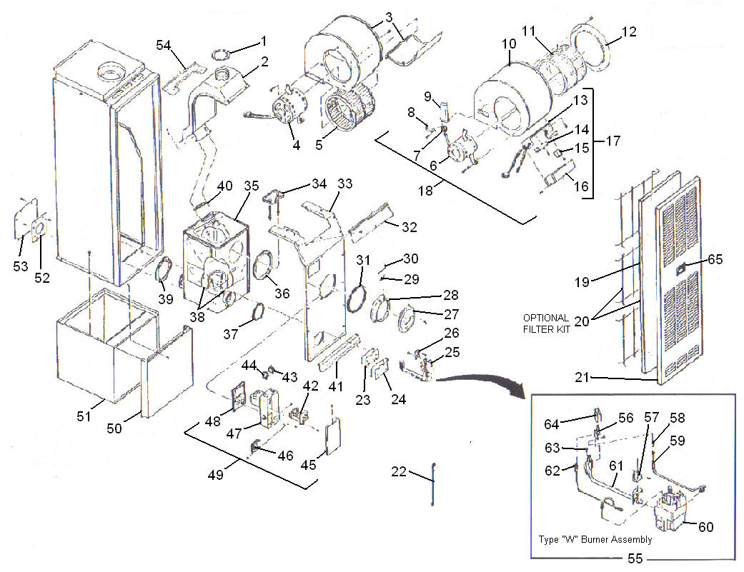 Intertherm Furnace Parts Diagram