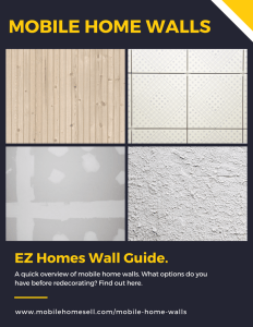 Manufactured House Walls