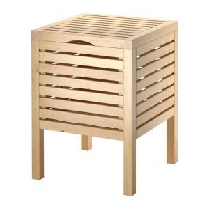 Wood Towel Crate
