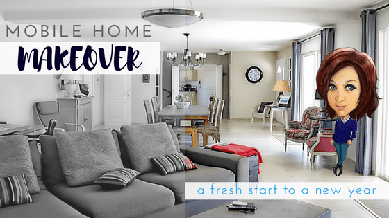 Mobile Home Makeover - Featured Image