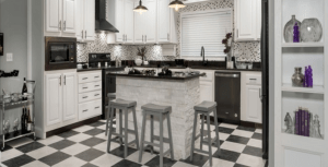 Kitchen, The White House Mobile Home