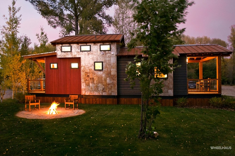 Exterior of the Caboose by Wheelhaus