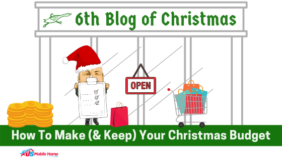 """Featured image for """"6th Blog Of Christmas: How To Make (& Keep) Your Christmas Budget"""" blog post"""