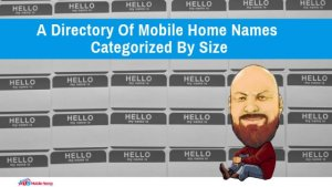 A Directory Of Mobile Home Names Categorized By Size