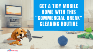 "Get A Tidy Mobile Home With This ""Commercial Break"" Cleaning Routine"