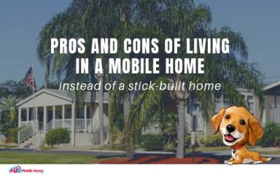Pros And Cons Of Living In A Mobile Home Instead Of A Stick-Built Home