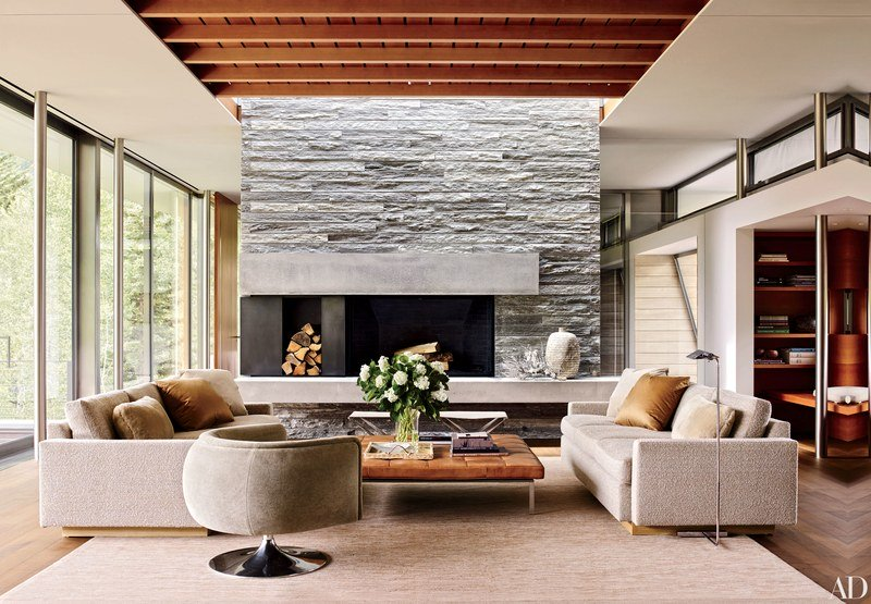 Modern designs with natural elements
