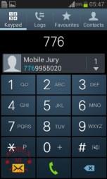 Dial pad_Samsung Galaxy Star Pro