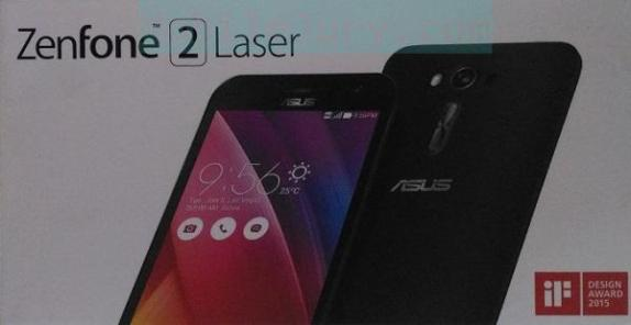 Asus ZenFone 2 Laser Review Retail Package