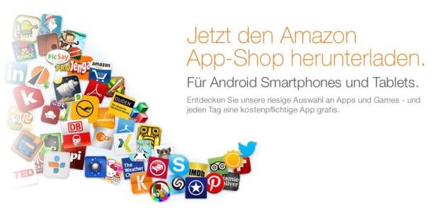 Amazon App-Shop startet endlich auch in Deutschland