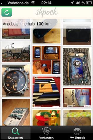 Shpock - Dein Flohmarkt auf dem Smartphone oder Tablet