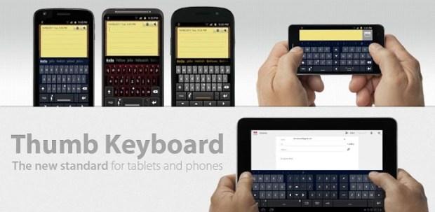 Thumb Keyboard im Amazon App Shop heute kostenlos