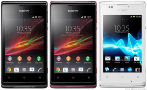 Sony xperia E opt