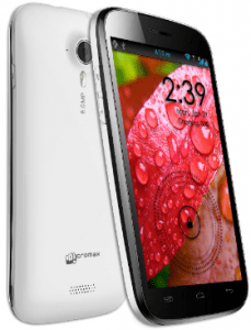 Micromax canvas HD opt