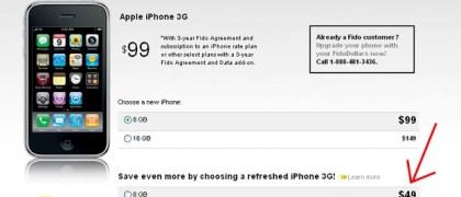 Fido's Cheaper iPhone