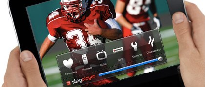 Slingplayer App on the Apple iPad