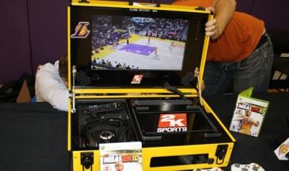Photo: ESPNA metal-cased portable Xbox 360.