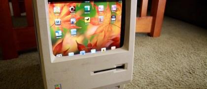 Old Schol Mac to iPad conversion Photo: Flickr